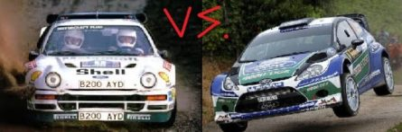 group b vs wrc