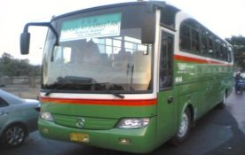 Travego Ala Mayasari Utama, Mercedes OH 1113 prima yang dipasangkan Body Karoseri MU