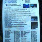 Agen - Agen yang tersebar sepanjang Jepara - Denpasar