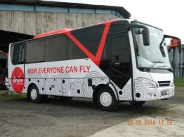 Bus shuttle air asia