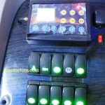 tombol - tombol untuk lighting dll