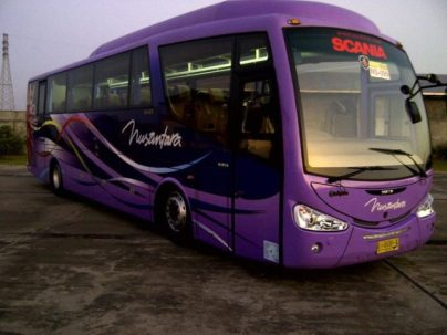 Nusantara Bus Malam Scania Irizar