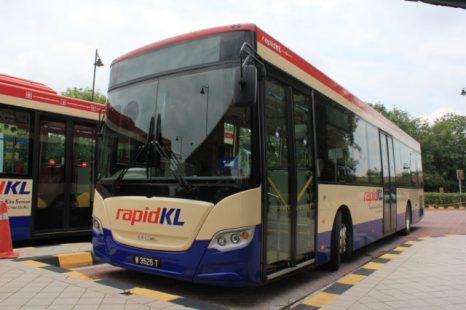 Rapid KL, bus yang digunakan selain scania ini ada juga MAN dan Volvo.