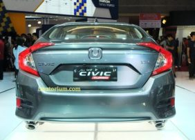 tampak belakang All New Civic Turbo