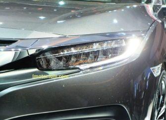 DRL yang disematkan pada headlamp full LED