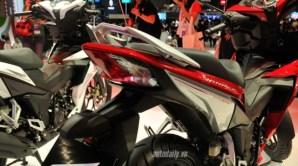 Honda Supra X 150 - Winner 150 3 lampu rem belakang