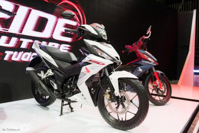 Honda Supra X 150 – Winner 150 6 warna putih