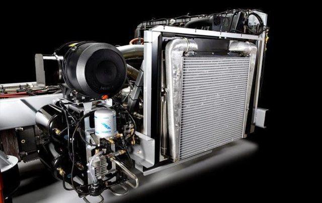 Mercedes Benz OC500RF 2542 Engine cooling