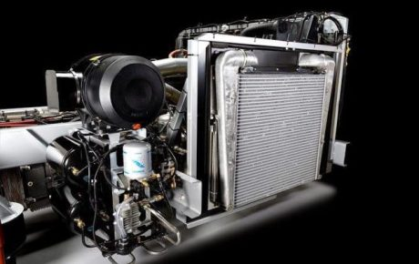 Mercedes Benz OC500RF 2542 Engine cooling