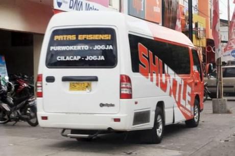 Profil dan Sejarah PO Efisiensi - shuttle bus