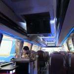 LED TV 22 inch juga hadir di tengah kabin (optional)