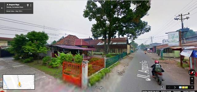 Kediaman Penulis di Kota Medan