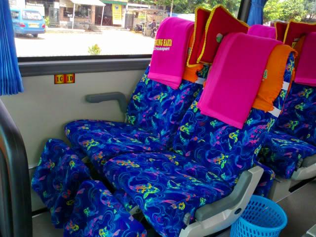 PO Gunung Harta  bus imotorium (8) interior
