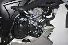 Mesin DOHC yang sudah teruji via Satria FU 150juga diadopsi GSX-S150