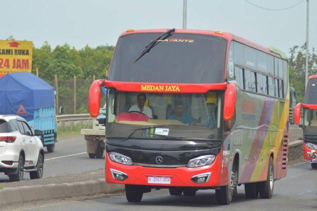 Ini Baru Greget, PO Medan Jaya Percayakan Body Tentrem Avante Di Armada Bus Ekonominya.