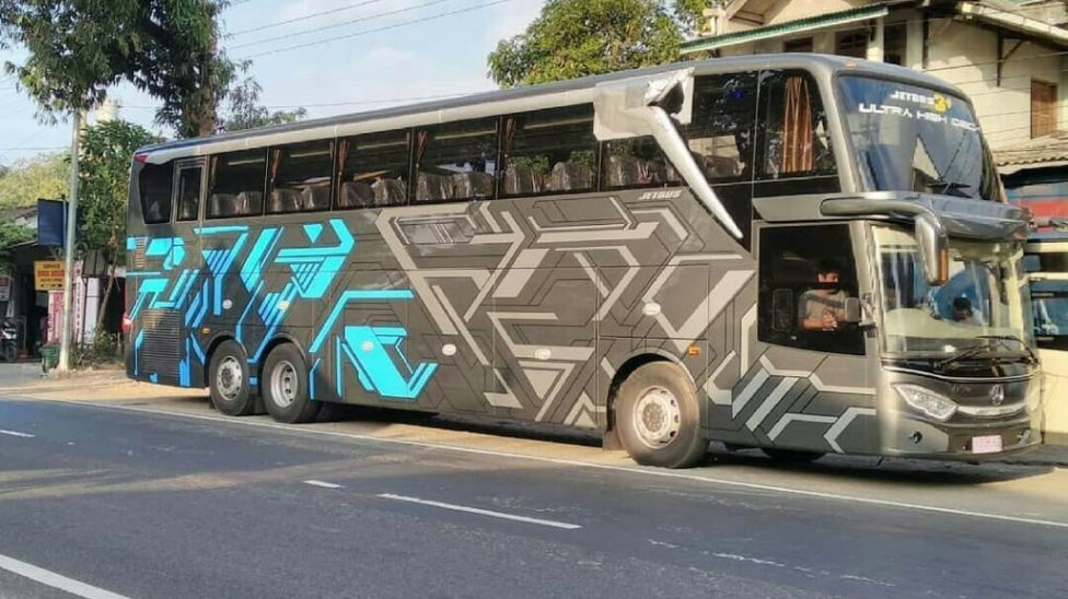 Penampakan Bus Adiputro Jetbus Uhd Mercy 2542 Jozz