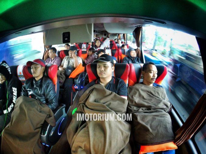 Bus Rosalia Indah Double Decker interior