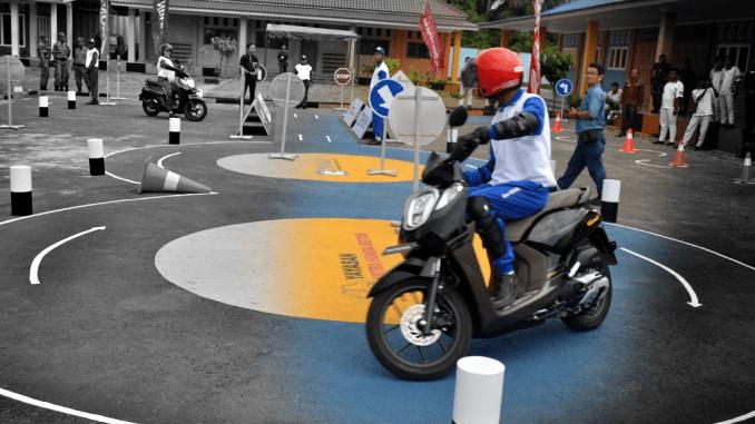 safety riding lab ahm binjai
