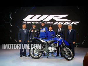 Yamaha WR155R launching