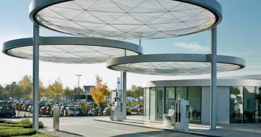 Linde Group hydrogen filling station Munich