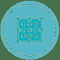 iMOVE network logo round
