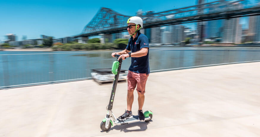 Lime Scooter, Storey Bridge, Brisbane