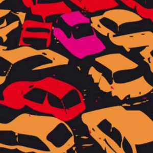 traffic jam illustration
