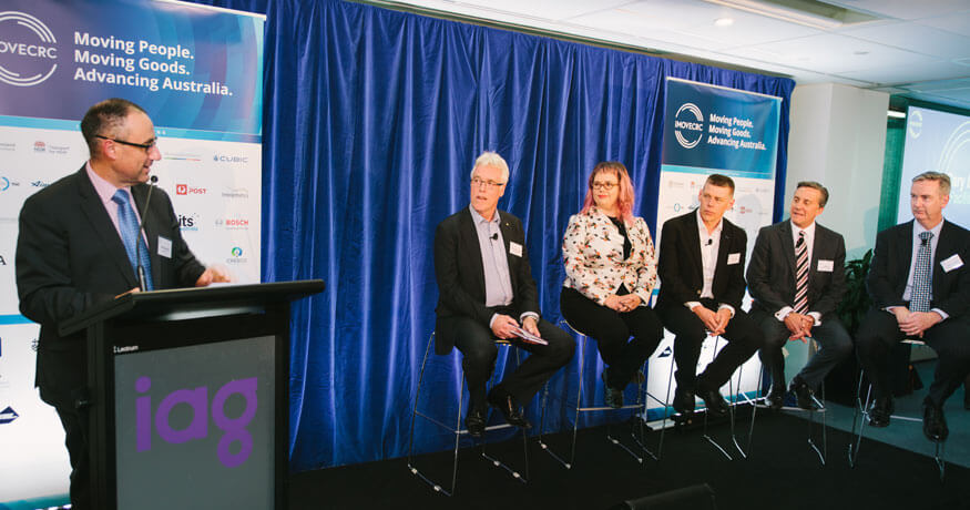 iMOVE launch discussion panel
