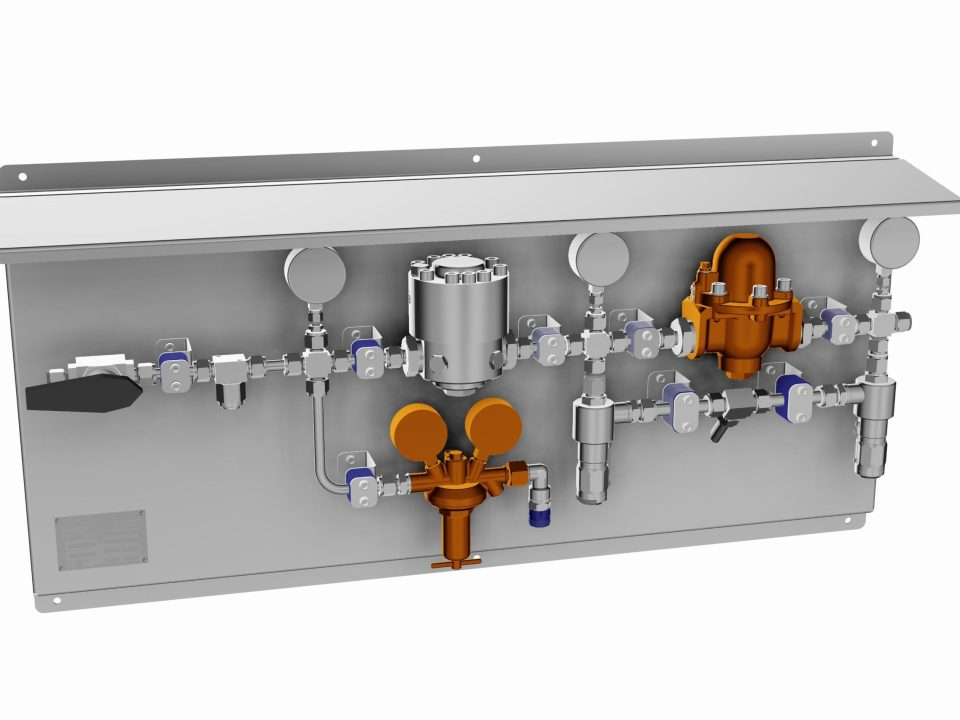 Impact Innovations Gas Supply Control Panel_001 for cold spray systems