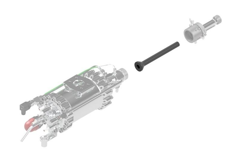 Impact Innovations Injector - OUT4_002 for cold spraying
