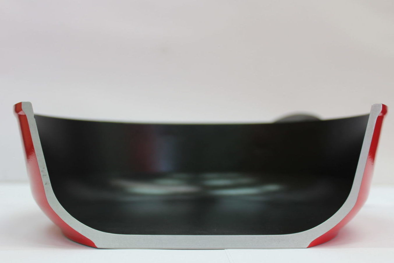 Coated induction cookware using cold spray