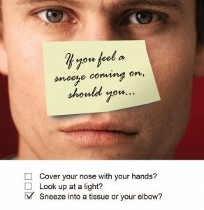 Catch Sneeze Poster