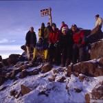Mt Kenya summit