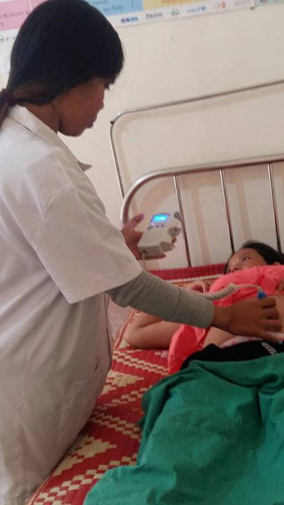 Pre-natal checkup at Svay Chek Hospital