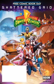 FCBD 2018 BOOM MIGHTY MORPHIN POWER RANGERS SPECIAL SG