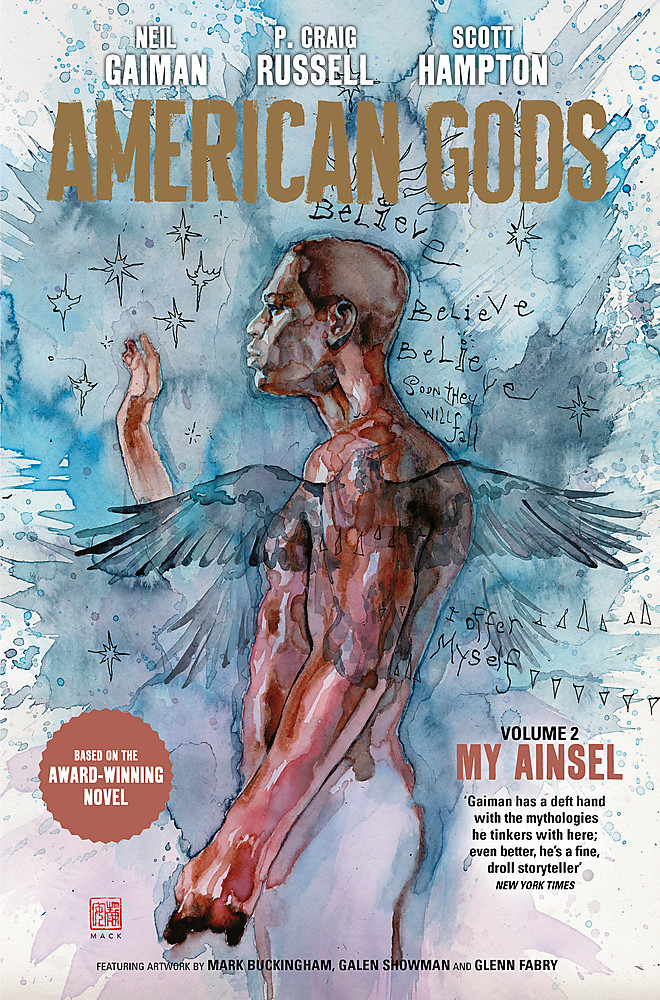 American Gods Graphic Novel Vol 2