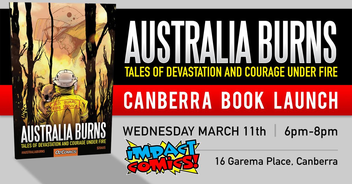 Australia Burns Book Launch