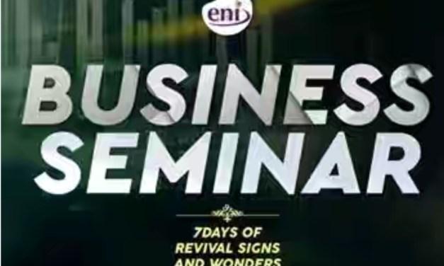 Business Session – Koinonia Revival 2019 | Pastor Olufukeji Ejimi