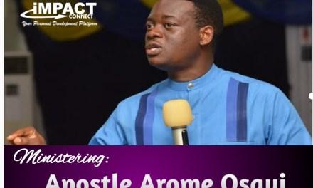 Download Sermon: Your Substance_Honour to God   Apostle Arome Osayi