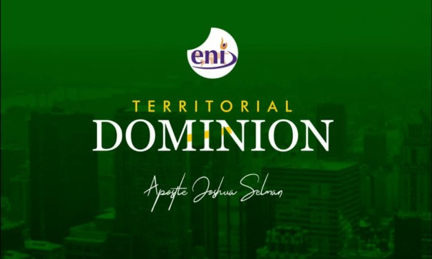 Download Sermon: Territorial Dominion – Koinonia 2019 | Apostle Joshua Selman Nimmak