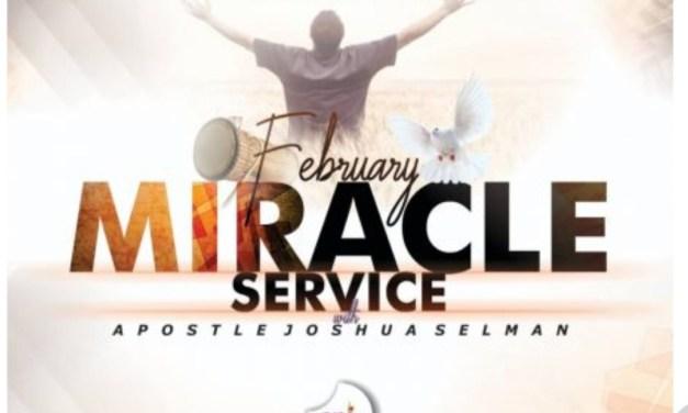 Download Sermon: February 2020 Miracle Service – Koinonia 2020   Apostle Joshua Selman