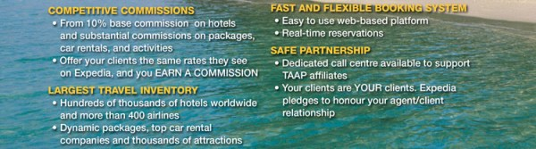 Register for Expedia TAAP and Earn Commission