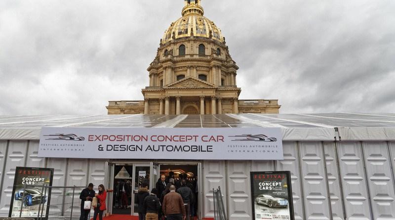 Voitures d'exception exposées à Concept Car 2020