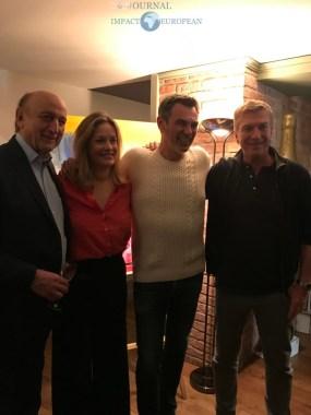 Pierre Bonte, Caroline Faindt, Jérôme Bertin et Philippe Caroit