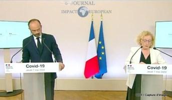 Edouard Philippe (Premier ministre) et Muriel Pénicaud (Travail)