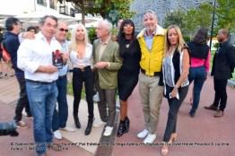 Hervé POUCHOL, Sylvain COLLARO, Véronique KOCH, Jacky, BB Ange, Esteban de la VEGA et Zora