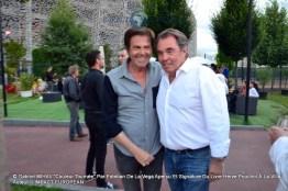 Marc SCALIA et le journaliste Hervé POUCHOL