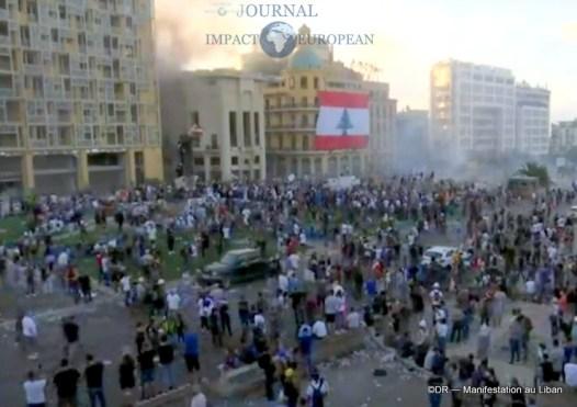 Manifestation au liban 1