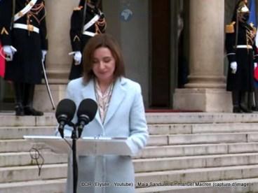 Mme Maia SANDU, Présidente de la Moldavie