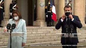Maia Sandu et Emmanuel Macron